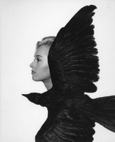 Philippe Halsman (1906-1979) - Tippi Hedren, 'The Birds', 1963