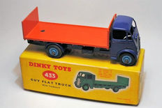Dinky Toys - Scale 1/48 - Guy Flat truck with tailboard No.433