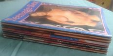 Pornography: Lot with 8 magazines of Teenage Sex - 1979/1993