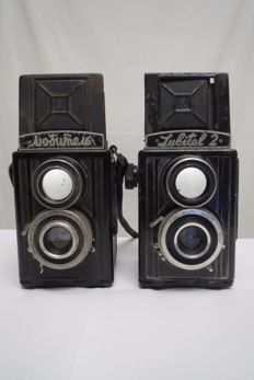 """Lyubitel '"" 1950-1956 and ""Lyubitel'-2""-very rare export model..  1955-1979"