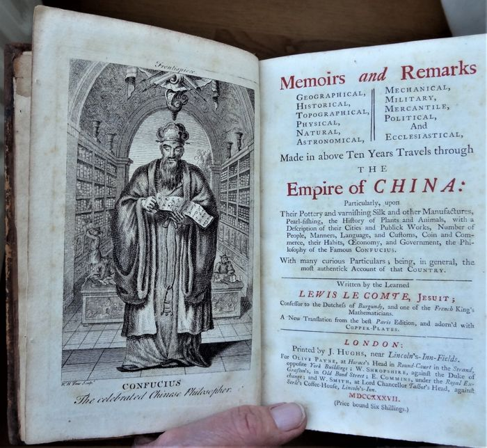 24c68981a0e38 Lewis Le Comte - Memoirs and remarks geographical, historical,  topographical, physical, natural, astronomical, mechanical, military,  mercantile, ...