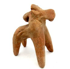 Rare Indus Valley Terracotta Horse Figurine - 84x101mm