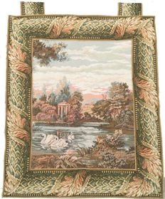 Vintage Tapestry - Mid of 20th Century - France - 87 cm x 72 cm