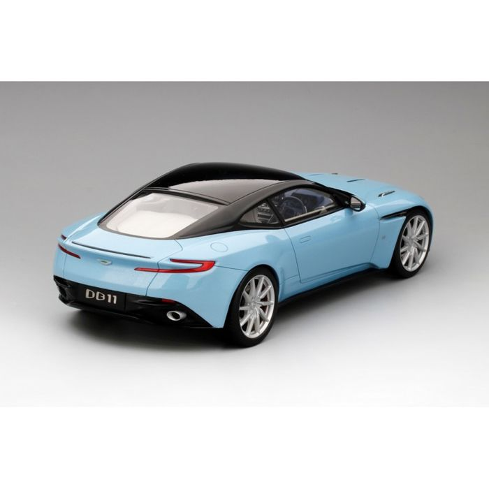 topspeed - scale 1/18 - aston martin db11 - frosted glass blue