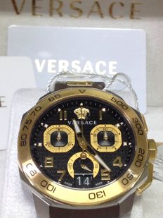 Versace – Dylos Chrono – VQC100016 – 2011-present – New with box and guarantee