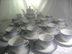 Porcelain tea set for 12 people MITTERICH Bavaria