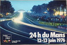 24 hours of le Mans 1976 - French original poster - 1976