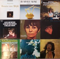 Ann Burton & Louis Van Dyke: 9 Great Albums on vinyl (10 LPs)