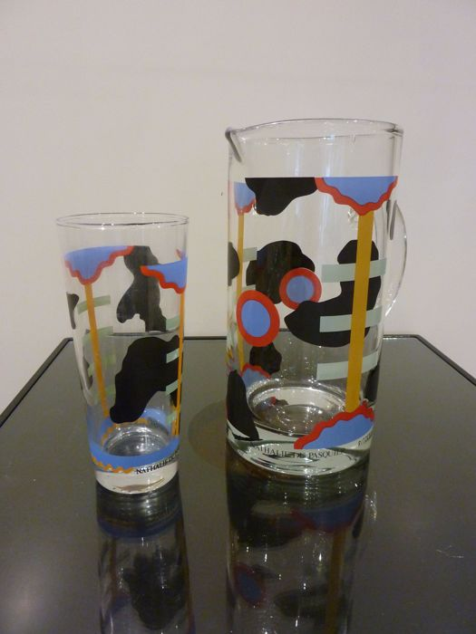 Ritzenhoff, Nathalie du Pasquier - jug and glass