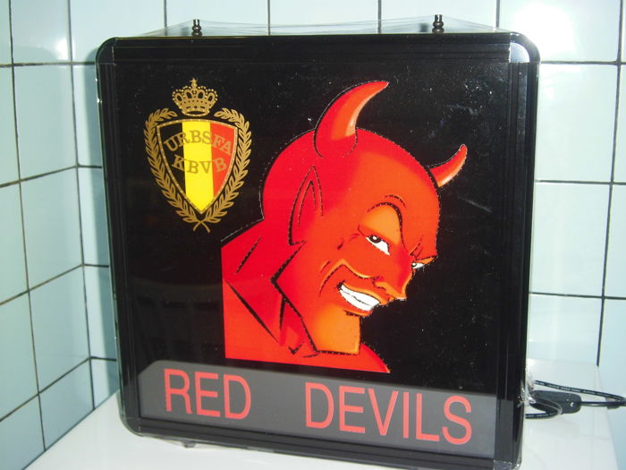 Illuminated advertising Red Devils - 2000