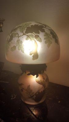 Montesy - Cameo Glass Table Lamp