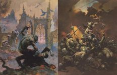 Frank Frazetta - 6 Vintage Posters - Real Free Press