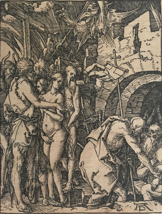 Albrecht Dürer (1471-1528) - Christ in limbo, from The Small Passion - 1509