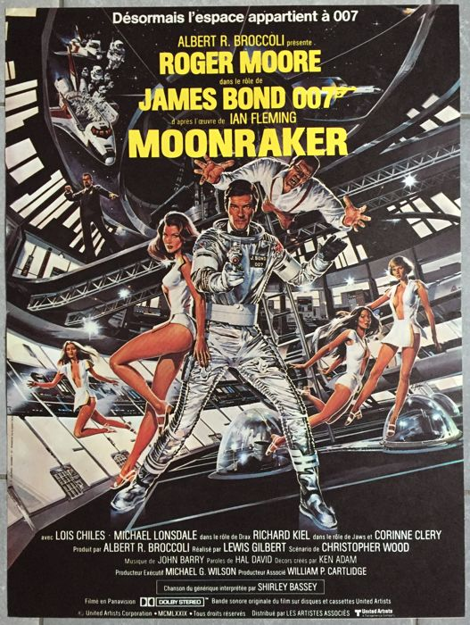 Anonymous - Moonraker (Roger Moore) - 1979
