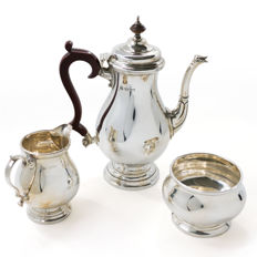 Vintage silver Tea Set - Elkington & Co Ltd - Birmingham - 1964