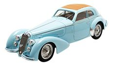 TrueScale Miniatures - Scale 1/18 - Alfa Romeo 1938 8C Loungo Touring Carrozzeria Superleggera