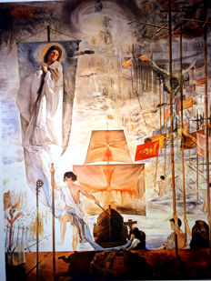 Salvador Dalí (after) - The Discovery of America
