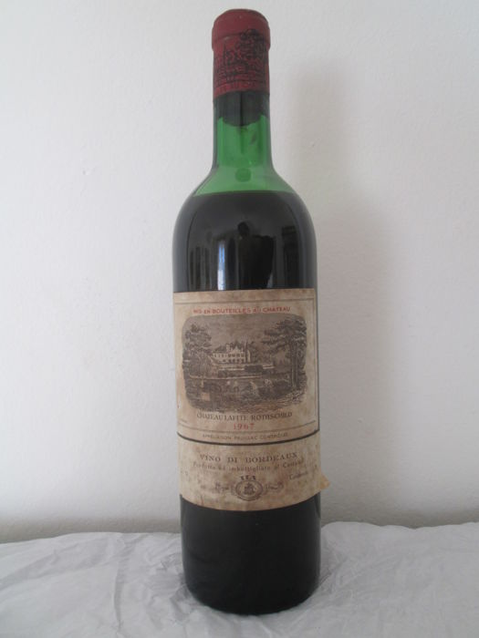 1967 Chateau Lafite-Rothschild, Pauillac 1er Grand Cru Classé - One bottle (75cl)