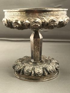 Silver Tazza with engravings