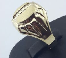 14/585 Ct Yellow Gold Men's Ring, size 20.00, Total 3.24g