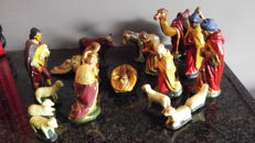 Two Nativity scenes