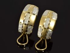 18 kt Gold -  Earrings