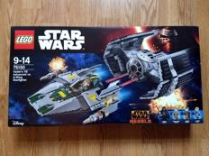 Star Wars - 75150 + 40176 - Vader's TIE Advanced vs. A-wing Starfighter + Inspiration Pack