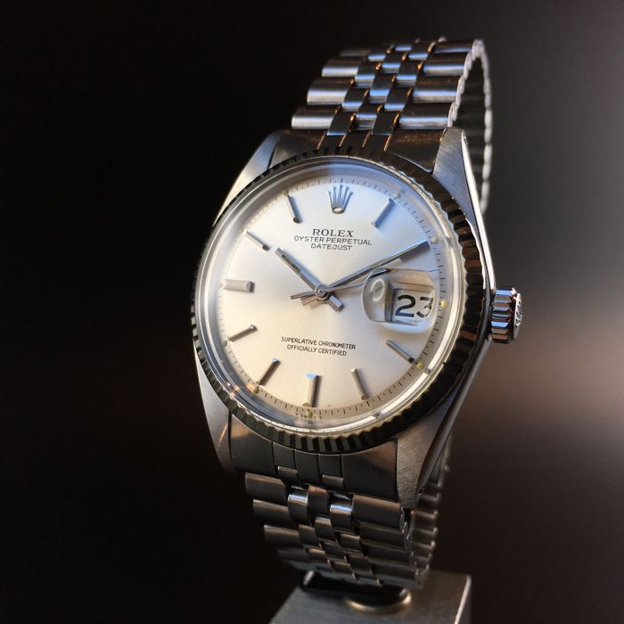 Men's Rolex DateJust, 1601 1973