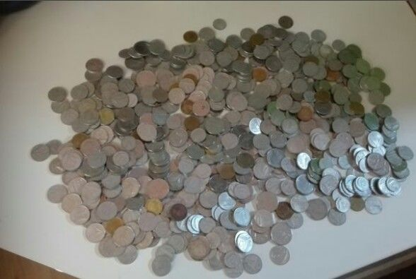 Republic of Italy - Lot of 504 Coins