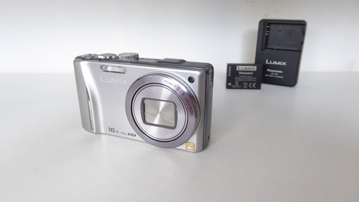 Panasonic TZ20 with Leica 24-384 mm DC Objective (35mm equiv.)