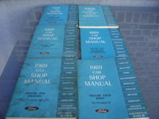 Ford shop manuals 1969