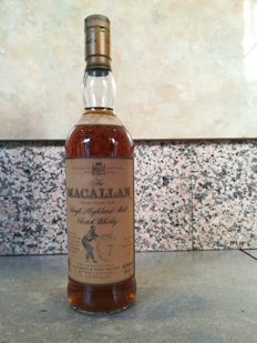 Macallan 7 years old Armando Giovinetti - 1990s