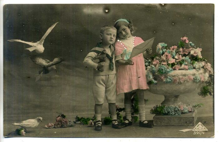 Children's cards Nostalgia period: 1900-1930; 116 x
