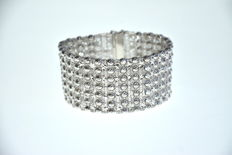 925 silver women's bracelet – 45.1 g – Made in Italy