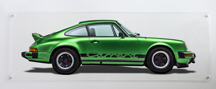 Decoratief object - Porsche 911 Carrera  - plexiglass - 2019