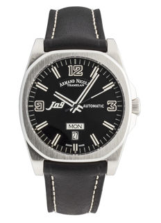 Armand Nicolet - J09 Day&Date Automatic - 9650A-NR-PK2420NR - Hombre - 2011 - actualidad