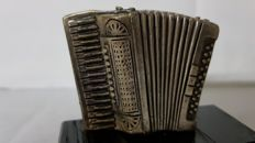 Accordion mascot