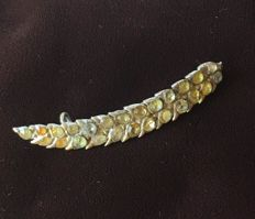 Wheat ear brooch end of 18th century early 19th century