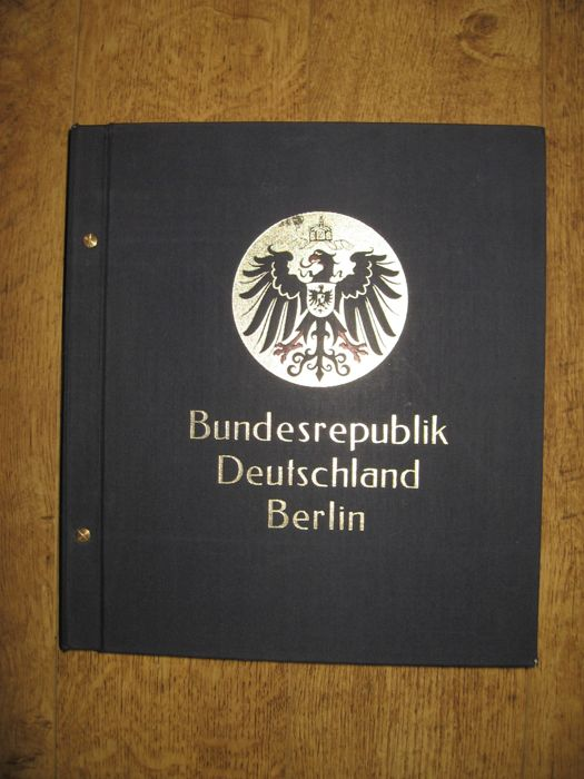 Collection Federal Republic of Germany & Berlin 1946/1994 - in DAVO album
