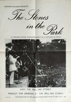 Anonymous - The Stones in the Park (Rolling Stones) - 1969
