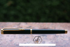 Superb roller pen WATERMAN Gentleman green lacquered new