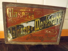 Painted Glass in Plomb Plaque , Glaserei Jalousie Desrkstatt Clemens Stossel.