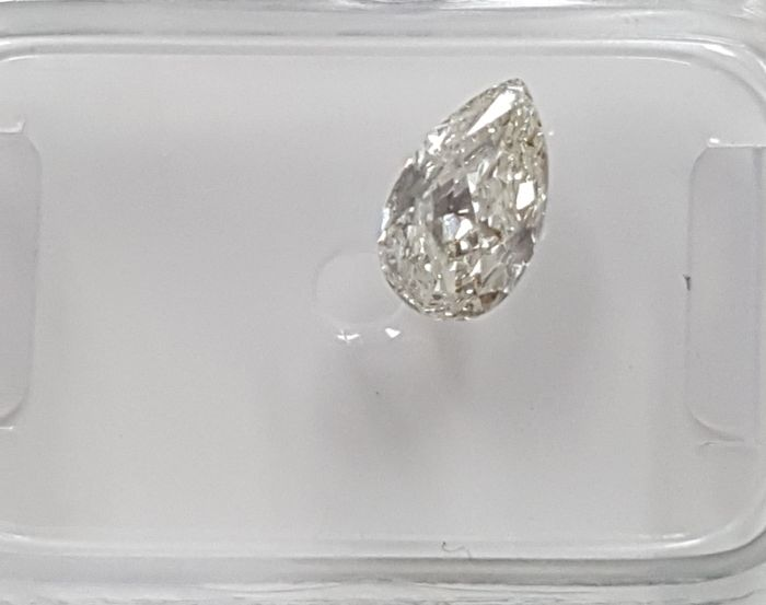 Diamant - 0.54 ct - Birne - G - VS2