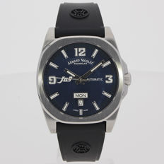 Armand Nicolet - J09 Day&Date Automatic - 9650A-BU-G9660 - men's - 2011-today