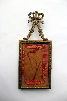 Photo frame in bronze, Louis XVI style - France - around 1900