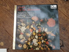 45 classic lp's with Beethoven, Vivaldi, Mozart ect ect