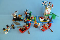 Pirates - 6245 - 6251 - 6257 - 6260 - 6265 - Harbor Sentry - Pirate Mini figures - Castaway's Raft -Shipwreck Island - Sabre Island