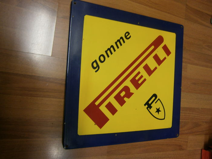 Sign - Pirelli gomme - 1990s