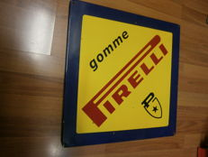 Enamelled sign - Pirelli tyres - 1990s