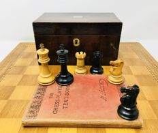 Book by Howard Staunton & Son's and Jaques Staunton chess